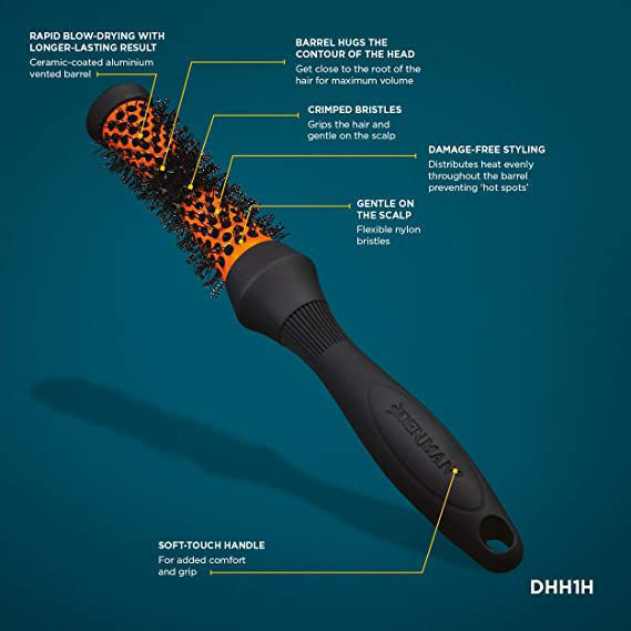 Denman - Extra Large Head Hugger Hot Curl Brush - 53cm